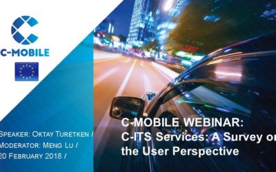 Webinar highlights: Next steps for C-ITS deployment