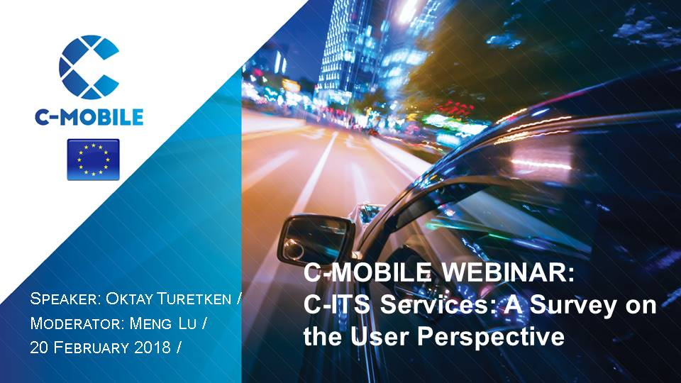 Webinar highlights: Next steps for C-ITS deployment