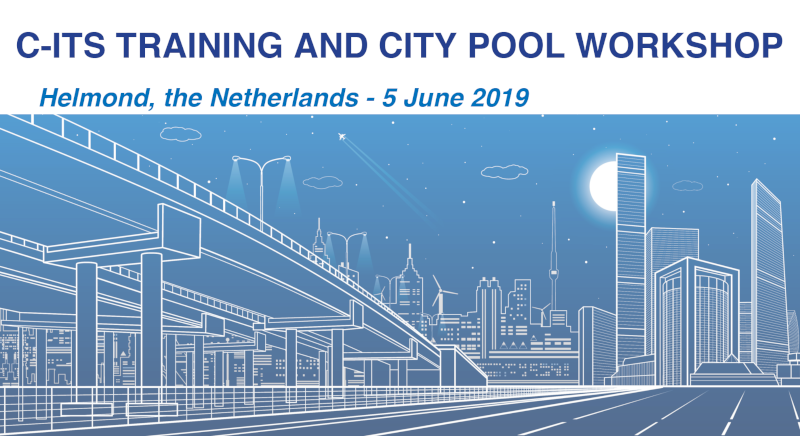 Register now for the C-ITS Training and City Pool Workshop on 5 June