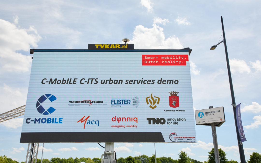 On-road C-ITS demonstration showcases benefits of C-MobILE innovations