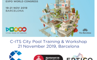 Save-the-date: C-ITS City Pool:  Services Deployment Training and Workshop | Barcelona, 21 November