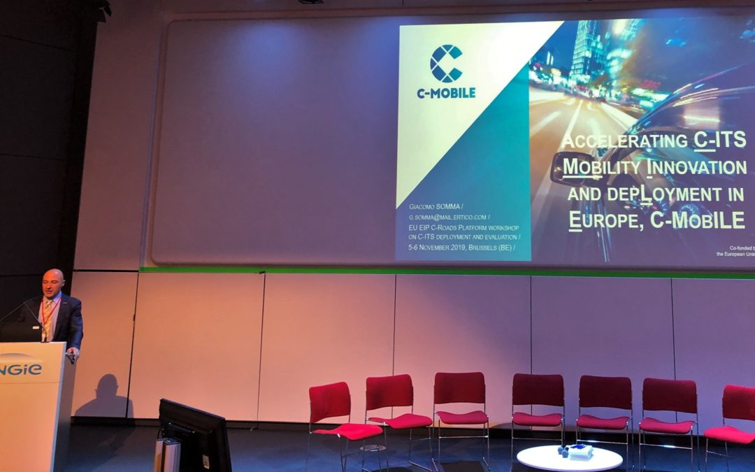 C-MobILE attends EU EIP C-Roads C-ITS Deployment Workshop in Brussels