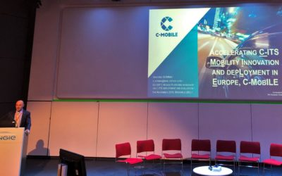 C-MobILE attends EU EIP C-Roads C-ITS Deployment Workshop in Brussels