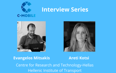Talking innovation with CERTH-HIT Evangelos Mitsakis and Areti Kotsi