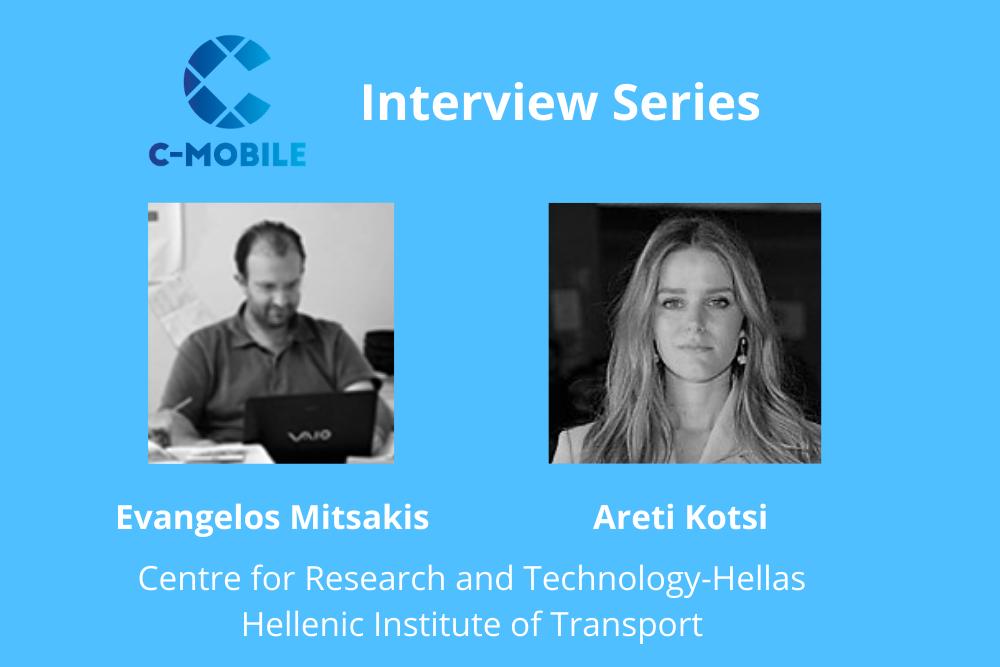 Talking innovation with CERTH-HIT Evangelos Mitsakis and Areti Kotsi