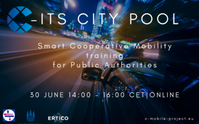 C-ITS City Pool gathers 22 public and road authorities